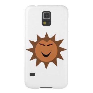 Gótico mau o Dia das Bruxas de Kawaii do ouriço Capinha Galaxy S5