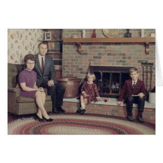 Gótico suburbano cartão comemorativo