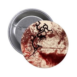 Gótico tribal deteriorado botons