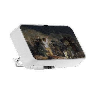 Goya-Execução de Francisco dos defensores de Madri Caixinhas De Som Para Notebook