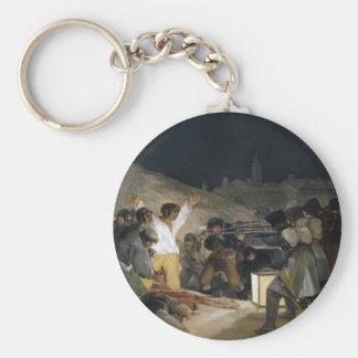 Goya-Execução de Francisco dos defensores de Madri Chaveiros