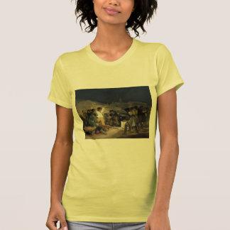 Goya-Execução de Francisco dos defensores de Madri T-shirts