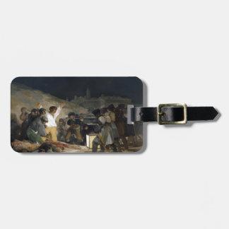 Goya-Execução de Francisco dos defensores de Madri Tags De Mala