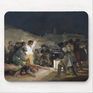Goya-Execução de Francisco dos defensores de Madri Mousepads