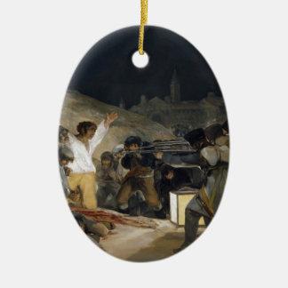 Goya-Execução de Francisco dos defensores de Enfeite De Natal
