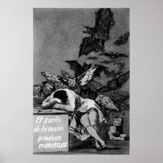 Goya o sono da razão produz monstro pôster
