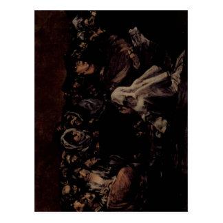 Goya y Lucientes, negras de Francisco de pinturas? Cartão Postal