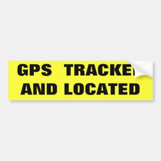 GPS SEGUIU E LOCALIZOU ADESIVO PARA CARRO