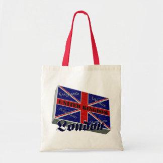 Grã-Bretanha 3D Bolsa De Lona