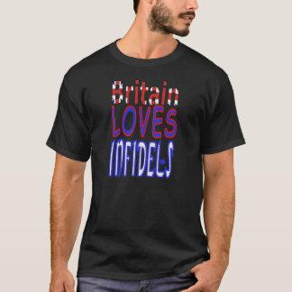 Grâ Bretanha ama a camisa dos infiel
