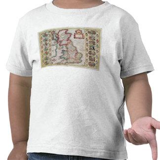 Grâ Bretanha como foi dividida no Tyme Tshirts