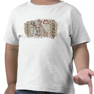 Grâ Bretanha como foi dividida no Tyme T-shirt