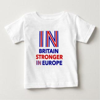 Grâ Bretanha mais forte em Europa Camiseta Para Bebê