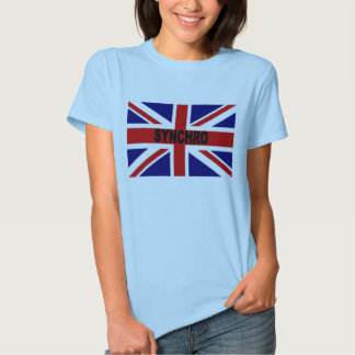 Grâ Bretanha Synchro T-shirts