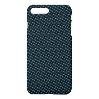 Grade azul metálica automotriz capa iPhone 7 plus