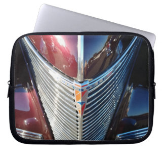 Grade brilhante do cromo do hot rod de Chevrolet Capa Para Notebook
