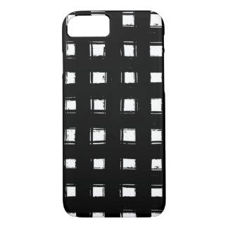 Grade pintada preto capa iPhone 7
