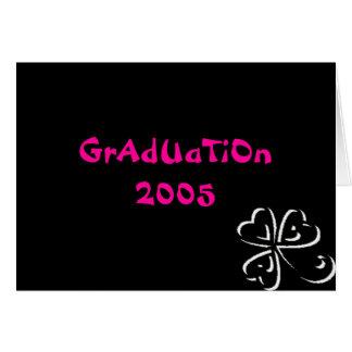 Graduação 2005 cartões