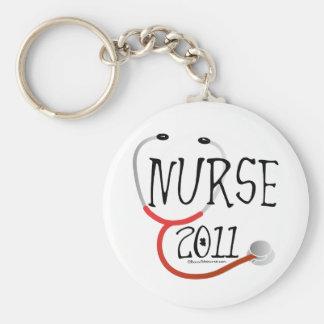 Graduação 2011 da enfermeira chaveiro