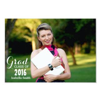 Graduação Convite 8.89 X 12.7cm
