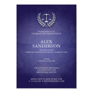Graduação da escola de direito com grinalda & convites