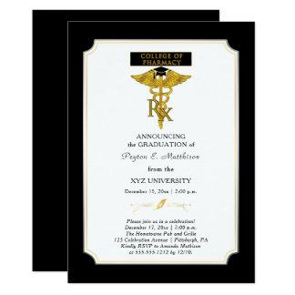 Graduação do farmacêutico |Toxicology da faculdade Convite 12.7 X 17.78cm