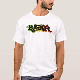 Graf Rasta Camisa com cores e preto da reggae