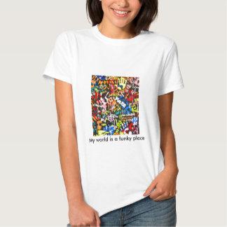 graffitis funky t-shirt