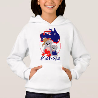 Gráfico bonito super australiano dos ursos de
