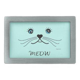 Gráfico da cara do MEOW-Gato legal