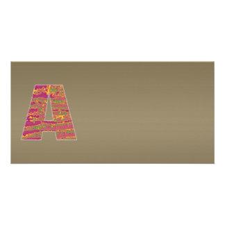 Gráfico de cobre de brilho da máscara n Art101 de Cartão Com Foto