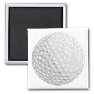 gráfico de vetor da bola de golfe imãs de geladeira