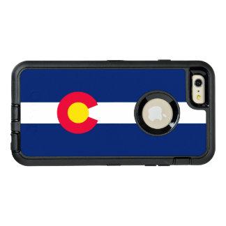 Gráfico dinâmico da bandeira do estado de Colorado