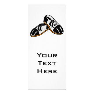 gráfico dos desenhos animados dos calçados de boli panfleto personalizado