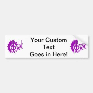 gráfico purple.png dos funcionarios das notas de c adesivo para carro