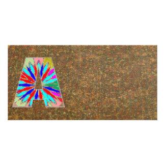 Gráfico selvagem de brilho da máscara n Art101 AAA Cartão Com Foto