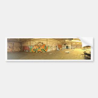 Grafites abandonados adesivo para carro