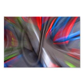 Grafites abstratos impressão de foto