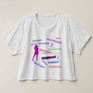 Grafites adolescentes camiseta