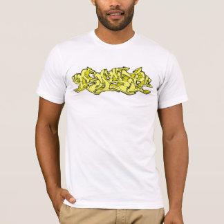 Grafites amarelos de Rase Camiseta