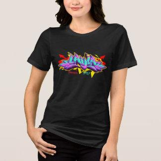 Grafites da menina: Layla Streetwear Camiseta