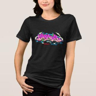 Grafites da menina: Makayla Streetwear Camiseta