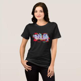 Grafites da menina: Olivia Streetwear Camiseta