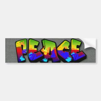 Grafites da paz adesivos