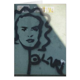 Grafites de Kansas City Cartão