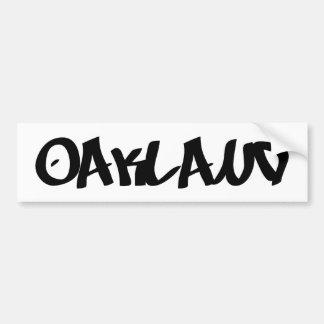 Grafites de Oakland Adesivo Para Carro