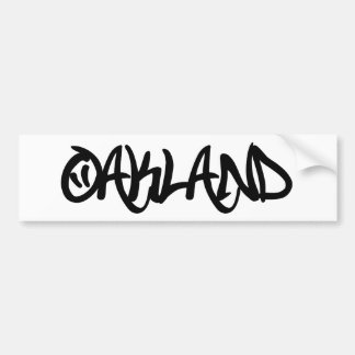 Grafites de Oakland Adesivos