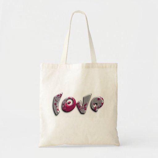 grafites do amor bolsa para compras