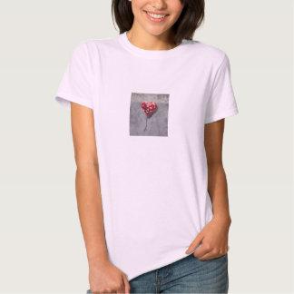 Grafites do coração quebrado t-shirt