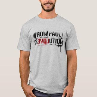 Grafites do estêncil da revolução de Ron Paul Camiseta